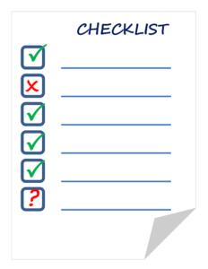 Eine Checkliste als wertvoller Lead Magnet