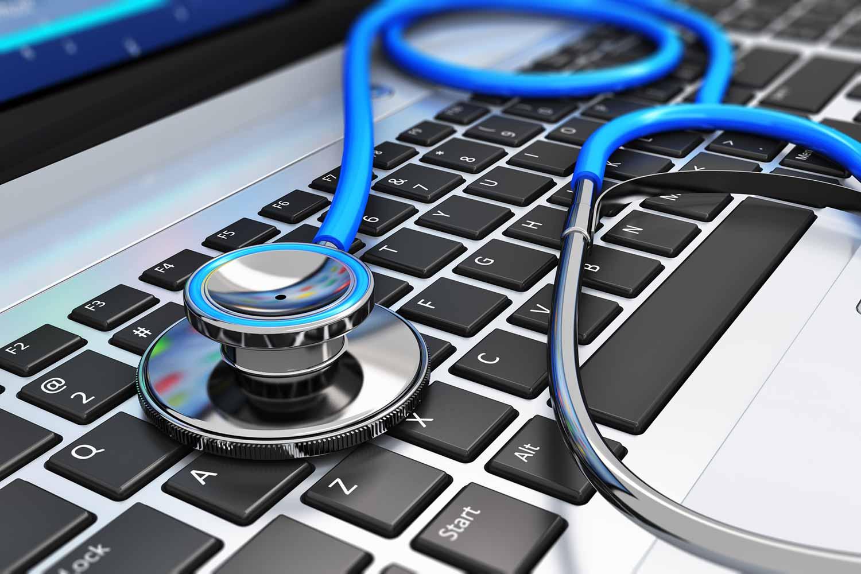 laptop stethoskop