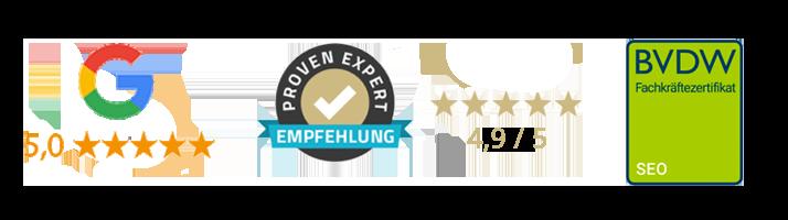 zertifizierung rankingdocs